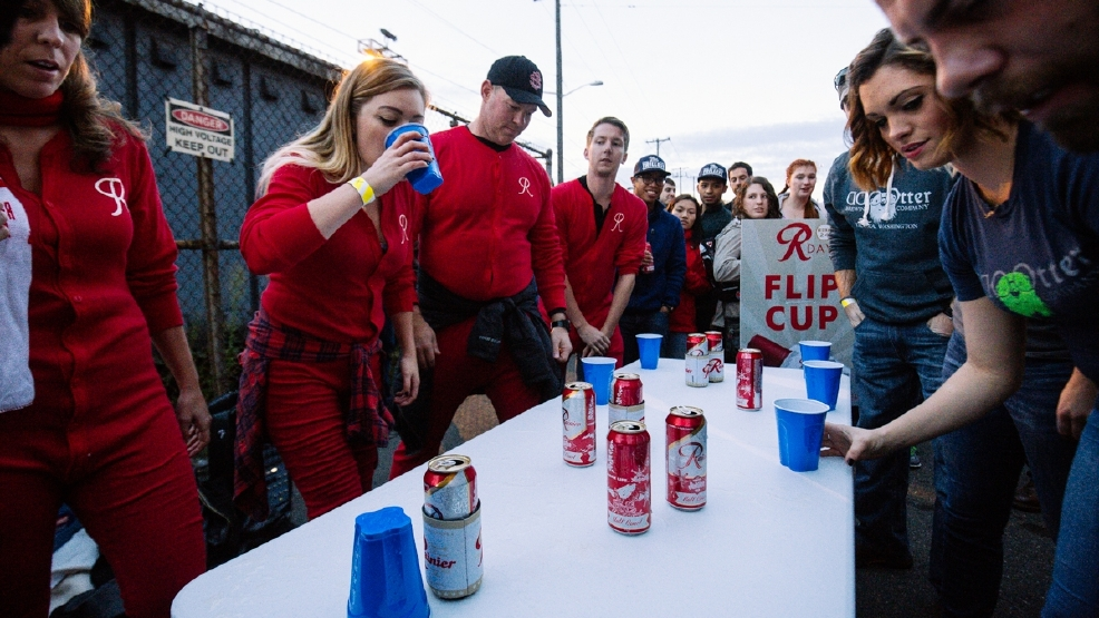 Let there be beer! R Day celebrates Rainier Beer in Seattle