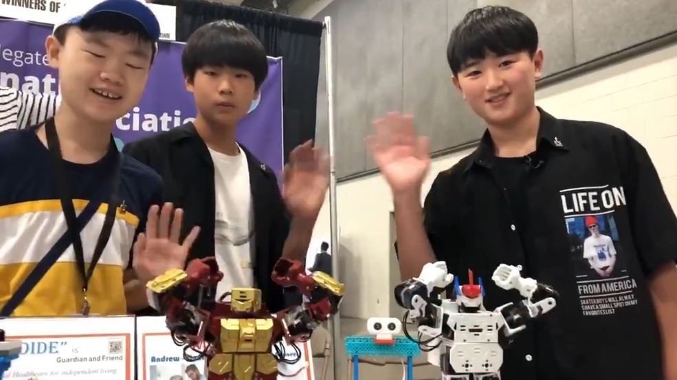 VIDEO: BTS dancing robots created by South Korean students