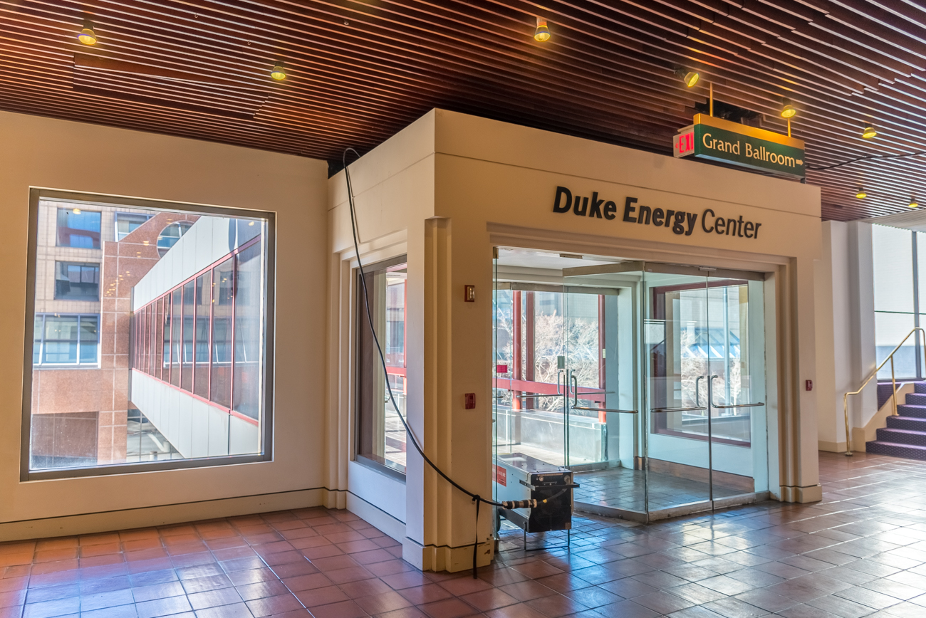 CONNECTS: Duke Energy Convention Center with Millennium Hotel / CROSSES: Elm Street / STATUS: Public // Image: Phil Armstrong, Cincinnati Refined // Published: 1.9.17