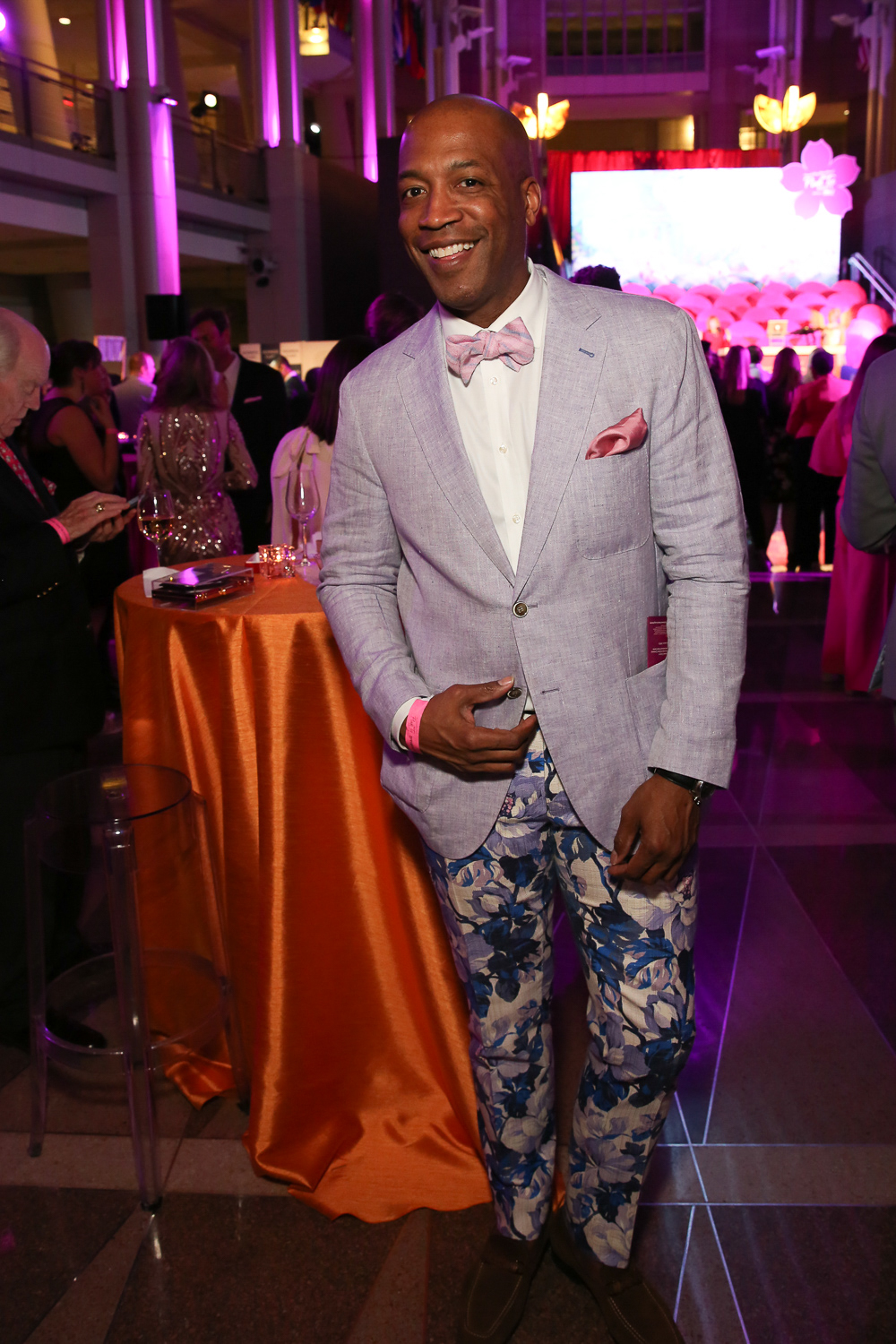 If you're more of a patterned pants guy, check out Barnette Holston. (Amanda Andrade-Rhoades/DC Refined)