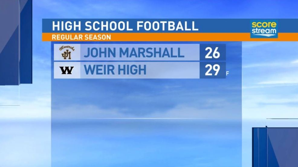 9.8.17 Highlights: John Marshall at Weir