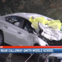 Fatal car crash at Calloway-Smith Middle School