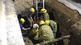 AFD rescues man from partial trench collapse in northwest Austin