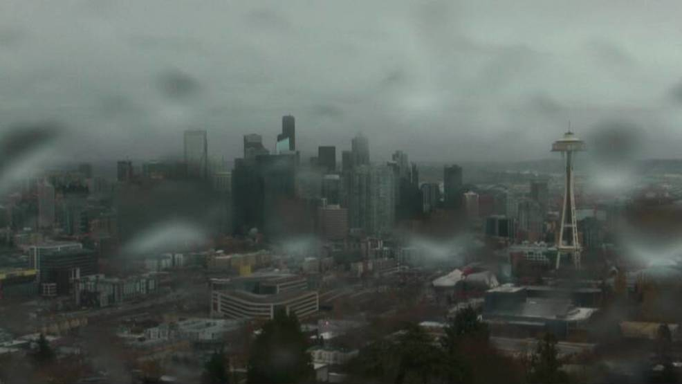 Seattle reaches annual quota of rainfall -- with 4.5 months tied behind our back