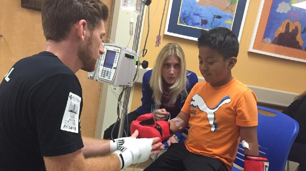 Healing Power Of Boxing At Palm Beach Children 39 S Hospital Wpec