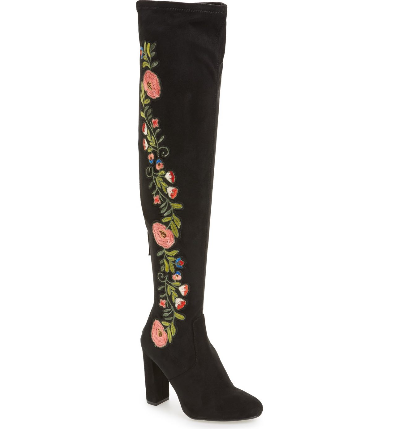 When I saw Steve Madden's Envoke Over the Knee Stretch Boots ($159.95), I died and went to Coachella heaven.  I want these.  We should all want these.  Pair with a flowey dress, or black leggings with an over-sized jean shirt and black wrap scarf. Bring out your inner hippie.  (Image: Nordstrom)