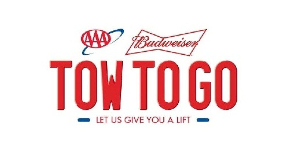 aaa tow to go service gives you and your car a sober ride kgan