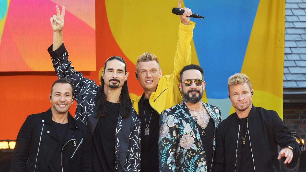 Backstreet Boys kicking off world tour following launch of new 'DNA' album