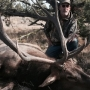 Hunter takes down massive elk in Idaho desert