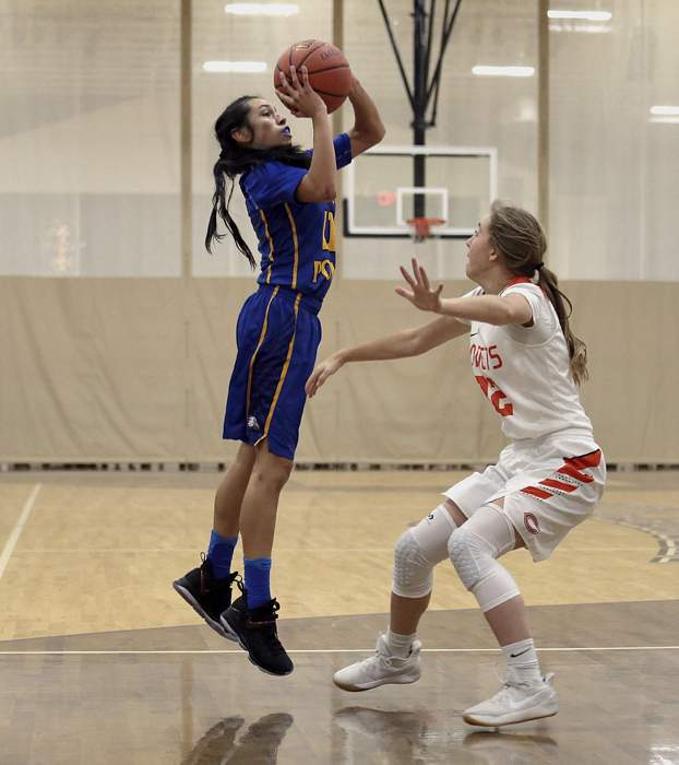 Girls' Varsity Basketball, Crater High vs. Eagle Point in the Second Round at the 2017 Christmas Classic at Cascade Christian High School. [ // PHOTOS BY: LARRY STAUTH JR]
