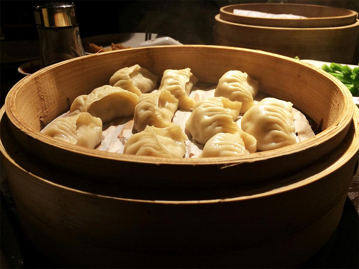 Din Tai Fung is a Taiwanese-based dumpling chain whose first shop in Seattle's University Village opened December 2013. They were named by the New York Times as one of the top ten restaurants in the world. (Kristi Waite / Seattle Refined)