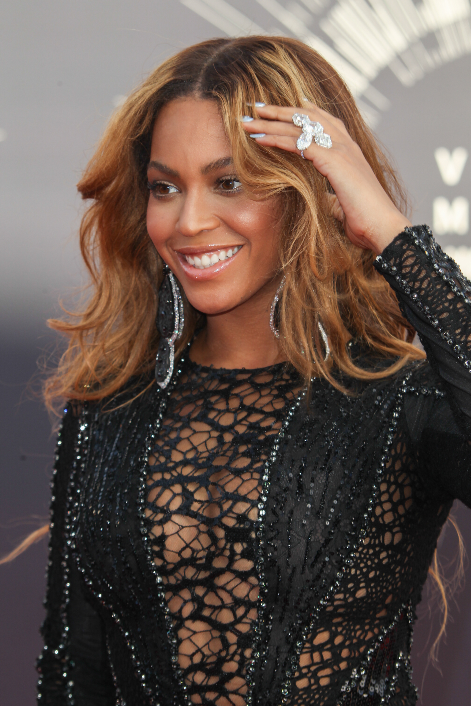 Beyonce at the 2014 MTV Video Music Awards at The Forum (FayesVision/WENN.com)
