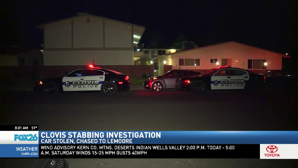 Clovis stabbing investigation ends up in Lemoore | KMPH