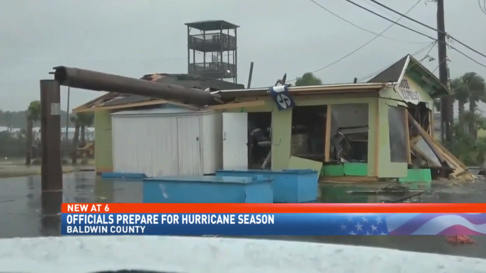 (IMG: WPMI) Baldwin County officials prepare for hurricane season