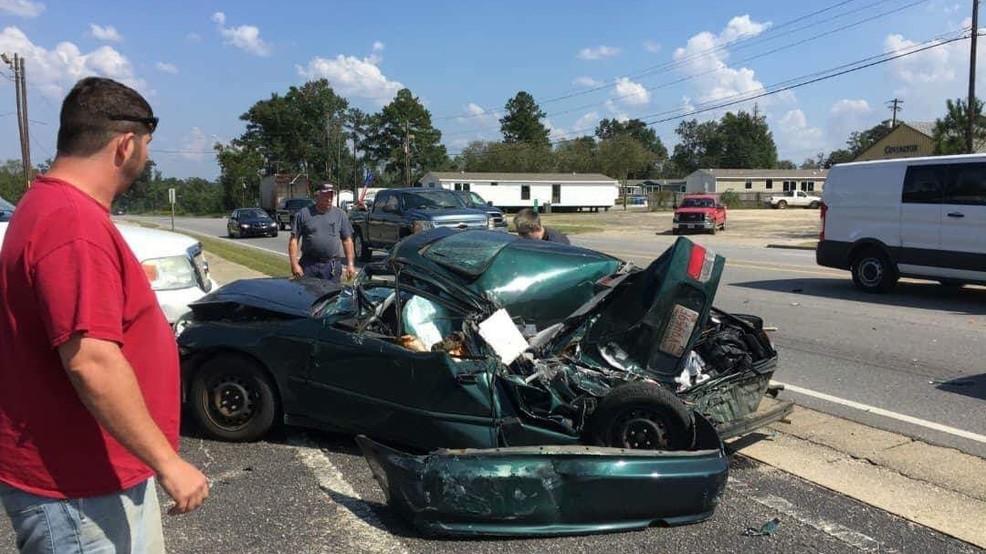 VIDEO: Brewton crash involving 18-wheeler caught on camera | WEAR