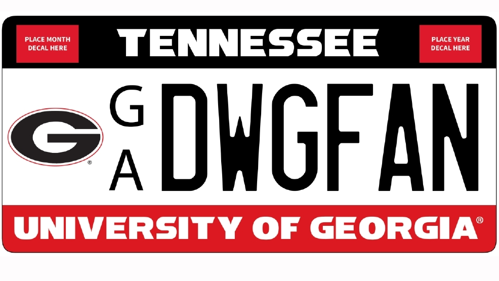 A UGA license plate in Tennessee? | WTVC