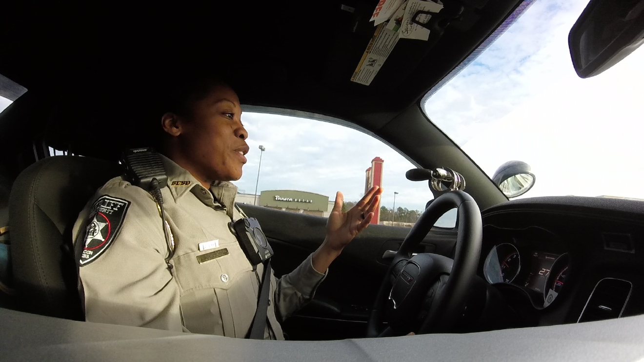 Dominique Williams knows the dangers of her job, but that doesn't stop her from protecting and serving / Eric Mock (WGXA)