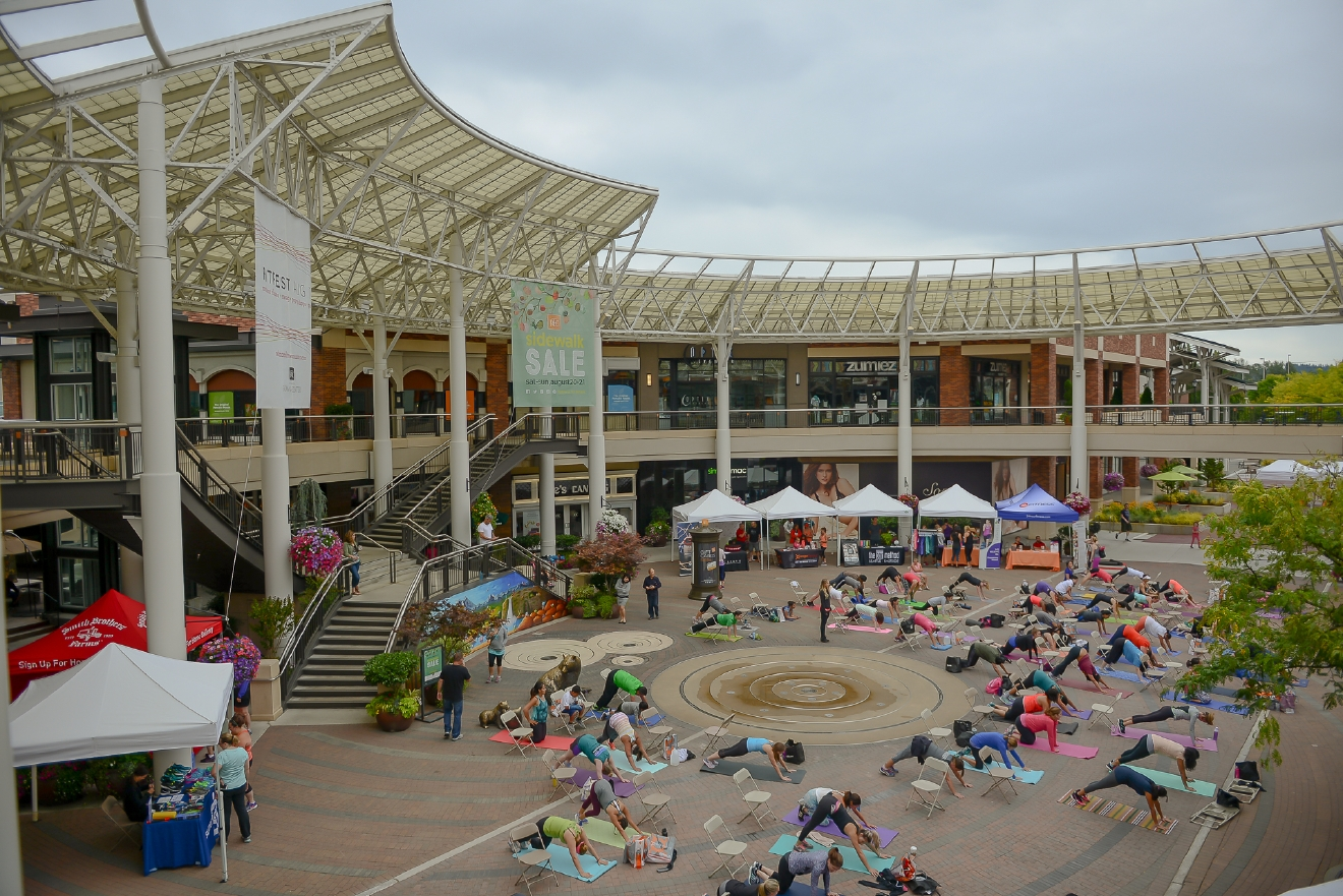 FitFest is just one of many fun of events you can attend at Redmond Town Center.