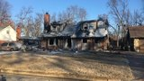 Woman dead after large house fire in south Tulsa