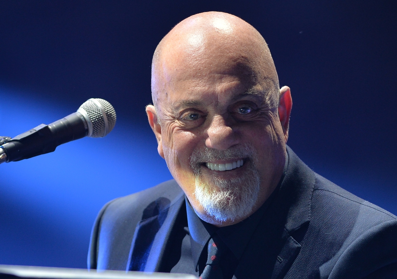 Billy Joel performs live in concert at the American Airlines Arena in Miami Jan. 31, 2015. (Johnny Louis/WENN.com)