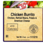 USDA issues recall of mislabeled ready-to-eat chicken burritos