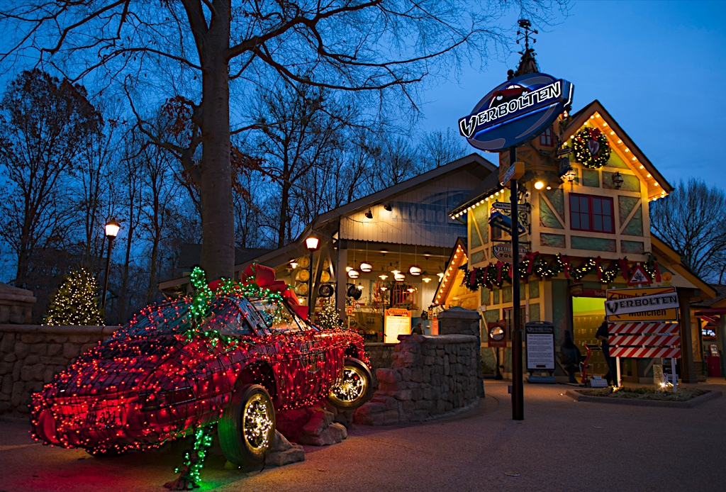 Busch Gardens' Christmas Town (The Greater Williamsburg Chamber &amp;amp; Tourism Alliance)<p></p>
