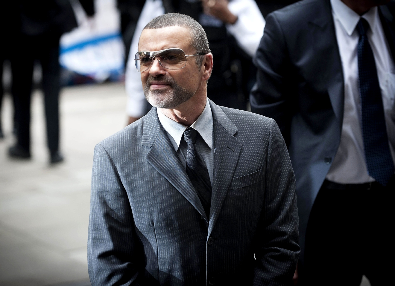 George Michael                                   arrives at Highbury Corner Magistrates Court to be sentenced for driving offences                                   London, England - 14.09.10                                                                      Featuring: George Michael                                   Where: London, United Kingdom                                   When: 14 Sep 2010                                   Credit: WENN