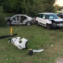 Two hospitalized after crash in West Pensacola