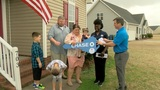 Marine family now proud owners of new home, free of charge