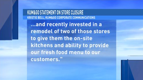 Kum & Go Statement, part 1