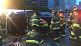 WSP: Downtown I-5 rollover crash was hit-and-run; witnesses sought