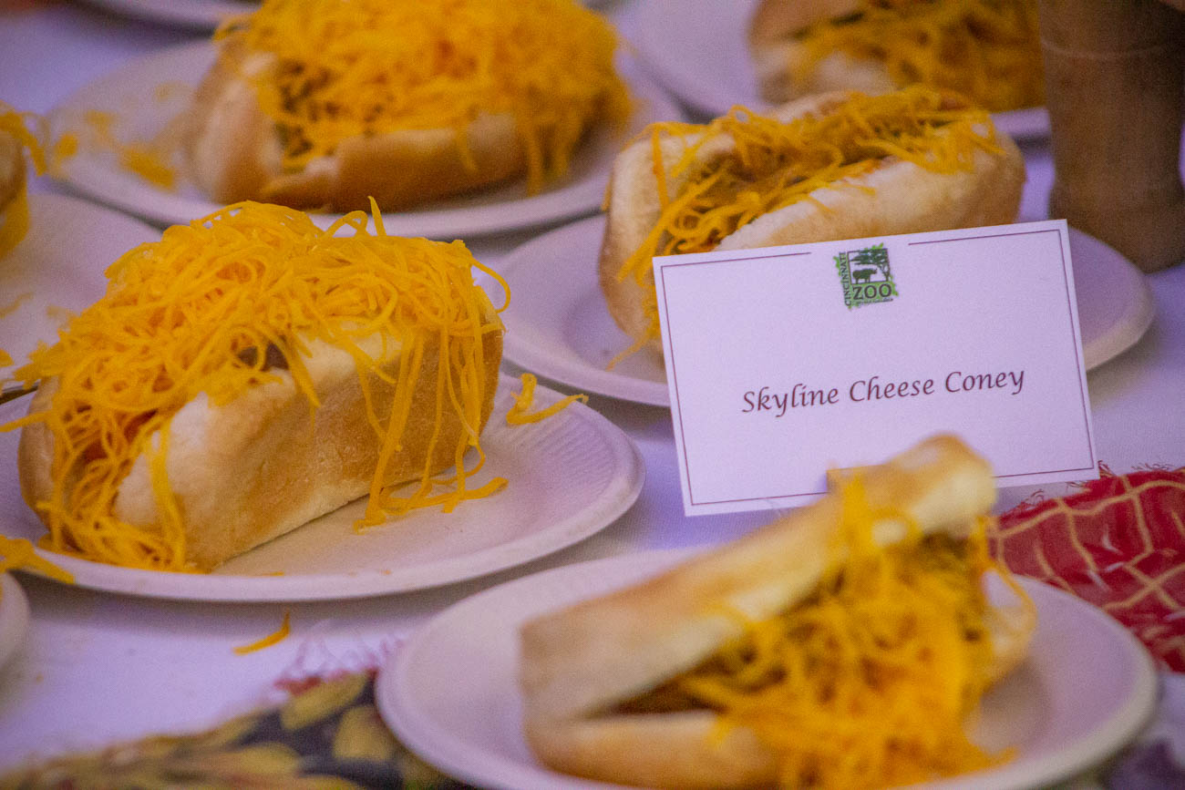 Skyline chili cheese coneys / Image: Katie Robinson, Cincinnati Refined // Published: 5.22.19