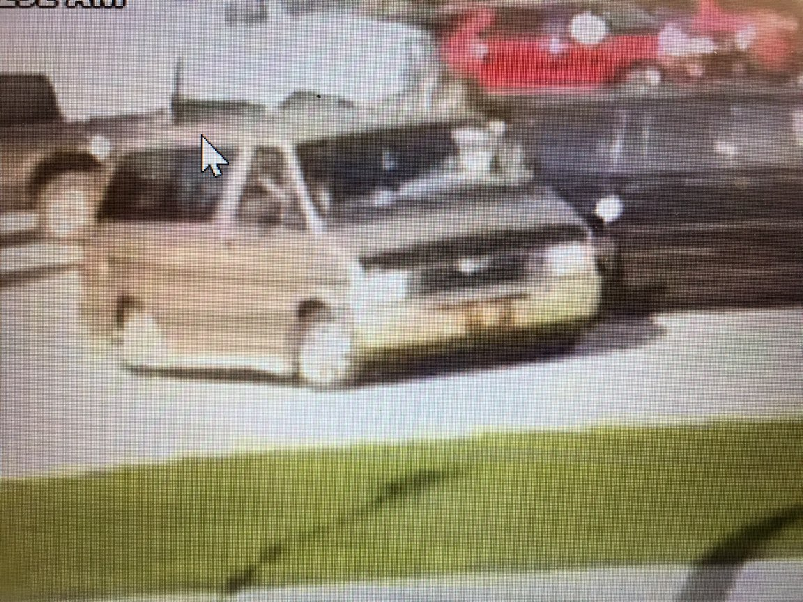 <p>Security photo of suspected vehicle Dakota, William and Jessica Ray were in taken from a hospital in Le Mars on Monday, May 14. (photo courtesy NCMEC)</p>