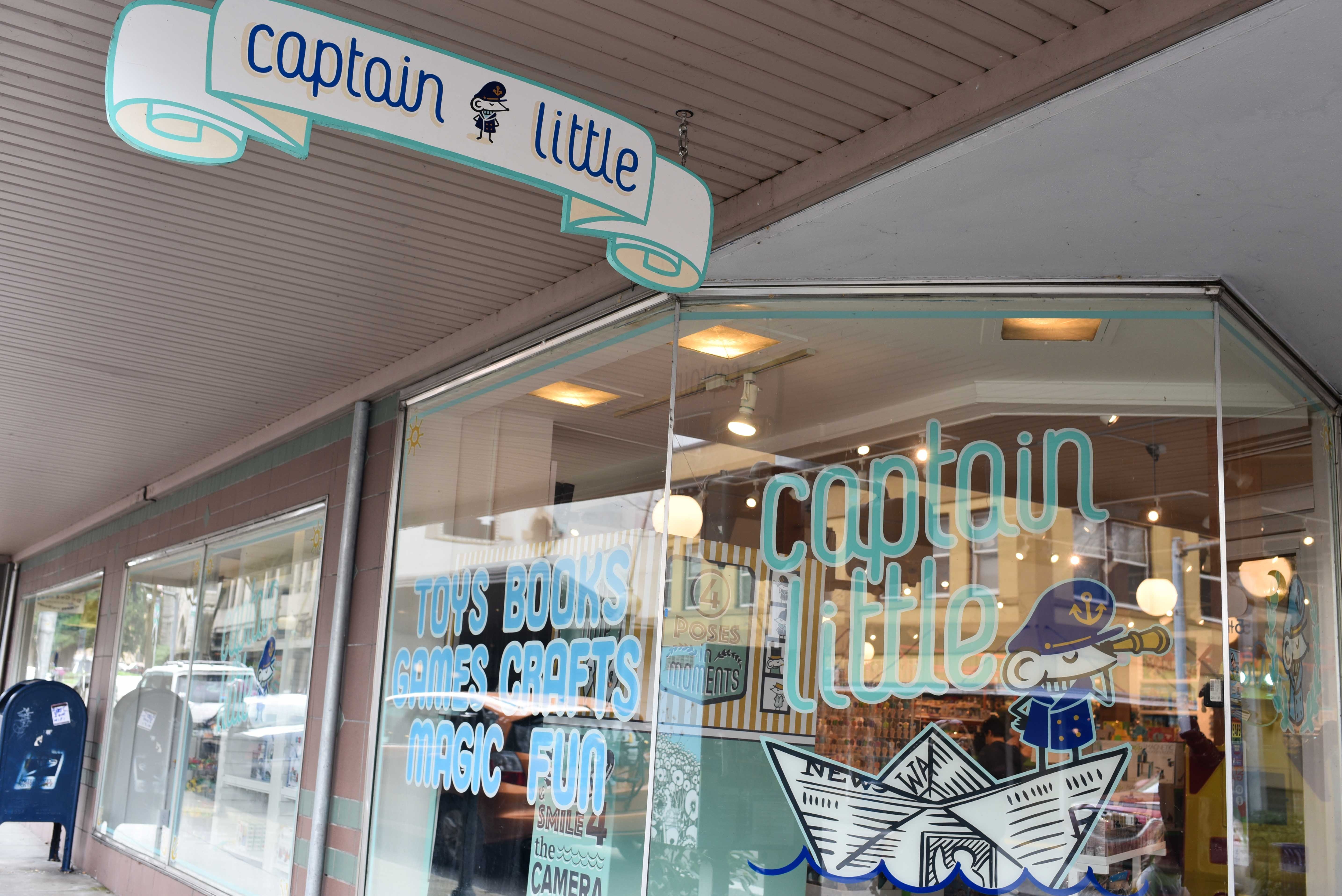 Olympia has great shops and one of the best toy shops, Captain Little. (Image: Rebecca Mongrain/Seattle Refined)