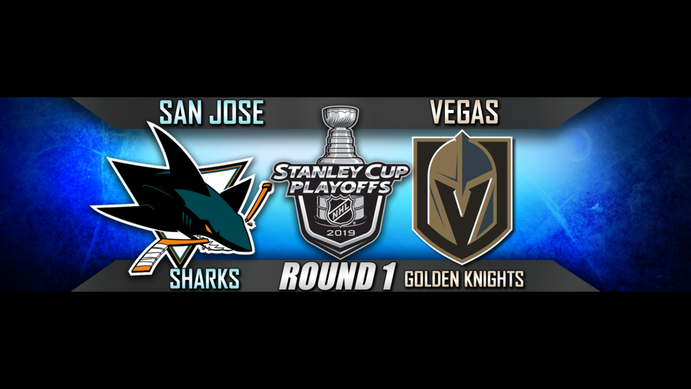 GAME 6: VGK to play the Sharks at 4 p m  Sunday   KSNV