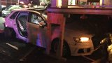 Firefighters free driver trapped after stolen car hits house in U-District