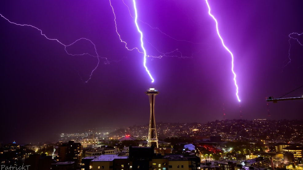 Seattle landmarks take another punch from Mother Nature