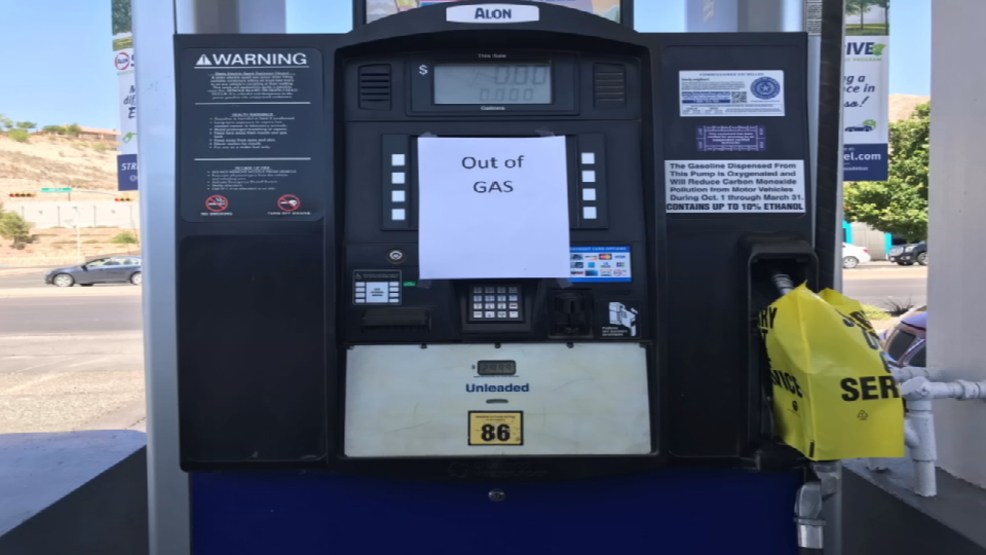 Several El Paso 7 Eleven Gas Stations Out Of Gas Kfox