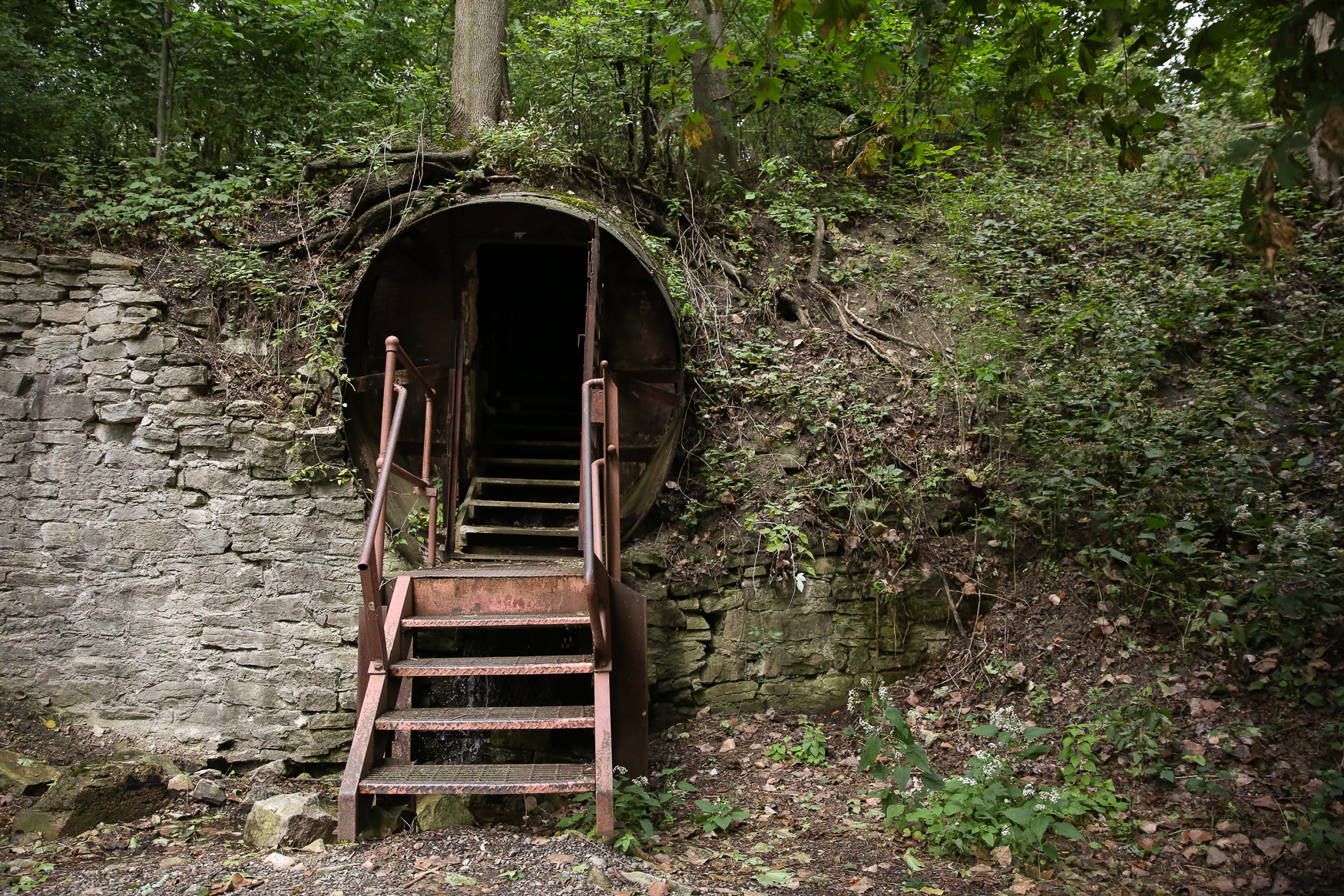 Outside the Lockport Cave, where you can take an underground boat ride.{ }(Amanda Andrade-Rhoades/DC Refined)