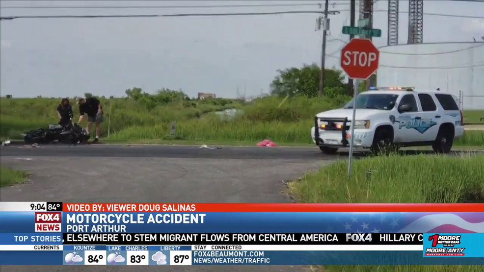 PAPD responds to accident involving motorcycle | KFDM