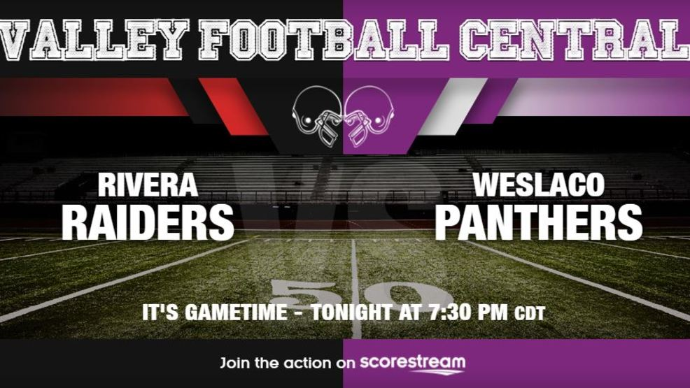 Listen Live: Brownsville Rivera Raiders at Weslaco Panthers