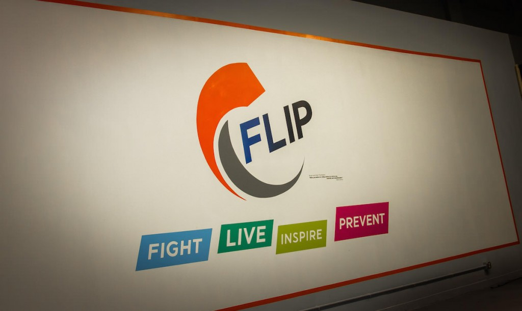 The FLIP organization (which stands for FIGHT, LIVE, INSPIRE, and PREVENT) helps people realize the opportunity to flip their lifestyles and take proactive measures against cancer. And InHealth Mutual is a health insurance co-op that partners with FLIP.