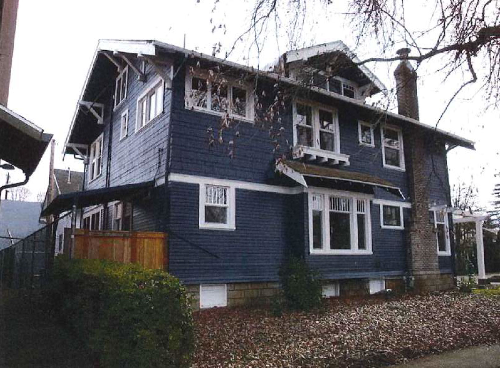 The Foster-Simmons House, 417 E 13th Ave. in Eugene, has been placed on the National Register of Historic Places as an intact example of Craftsman style home. (Photo from nomination)