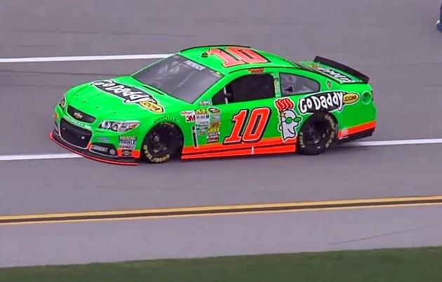 Danica Patrick during practice at Talladega Superspeedway Friday, May 3, 2013.