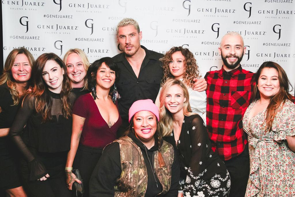 Celebrity hairstylist Chris Appleton - who has worked with Kim Kardashian, Jennifer Lopez, Ariana Grande and Katy Perry - recently stopped by Seattle to showcase the latest trends and technique for over 400 Gene Juarez employees. See something you like in the gallery? Bookmark it and take it into GJ for your next appointment. Thanks Chris! (Image: Gene Juarez)