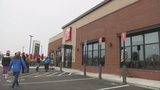 Attleboro enjoys Chick-fil-A celebration despite cold temperatures