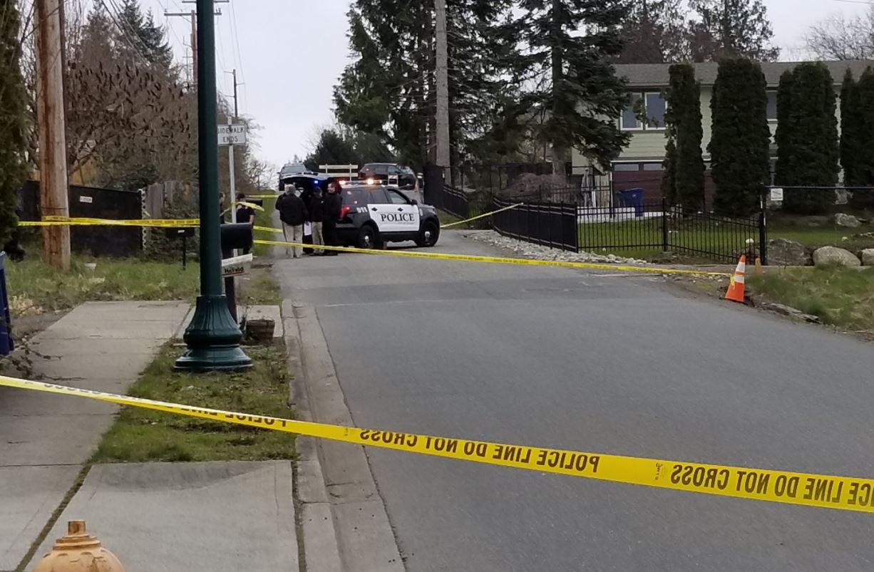 Police investigate after a body was found in Duvall on Wednesday, March 7, 2018. (Photo: City of Duvall)