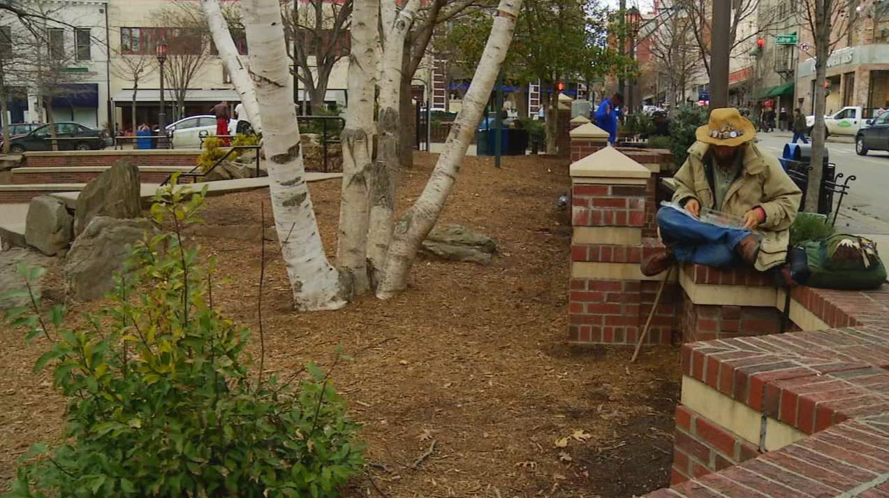 Staging area for soldiers during the Civil War, Pritchard Park is said to be haunted by a Confederate soldier. (Photo credit: WLOS staff)