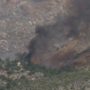 Red Rock Canyon fire not fully contained; firefighters predict Sunday evening containment