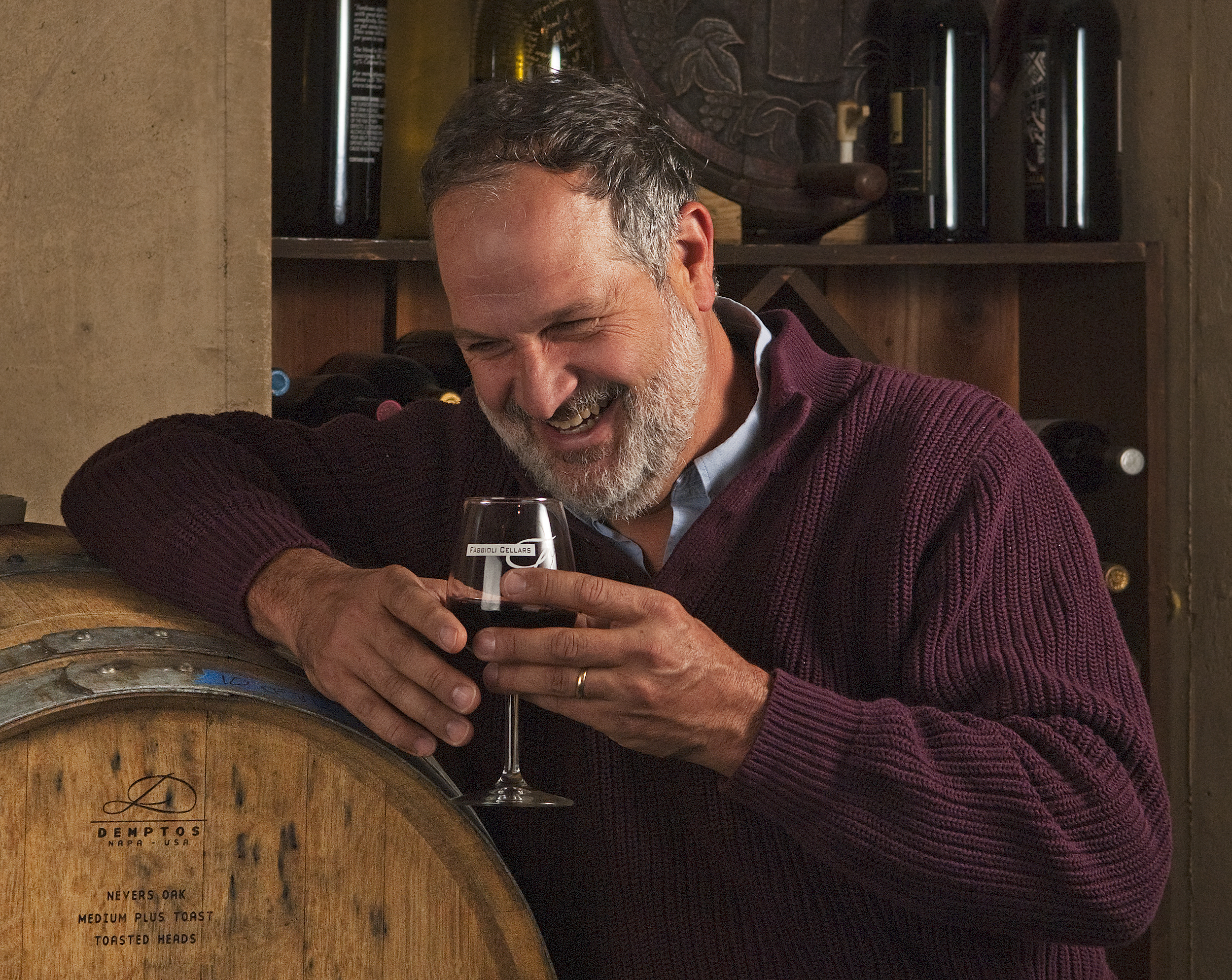 Doug Fabbioli (Photo credit Fabbioli Cellars)